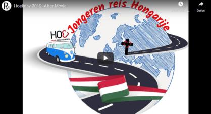 Videoverslag Apeldoorn in Hongarije